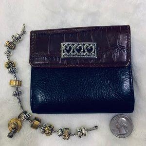 Vintage Wallet Brighton Leather
